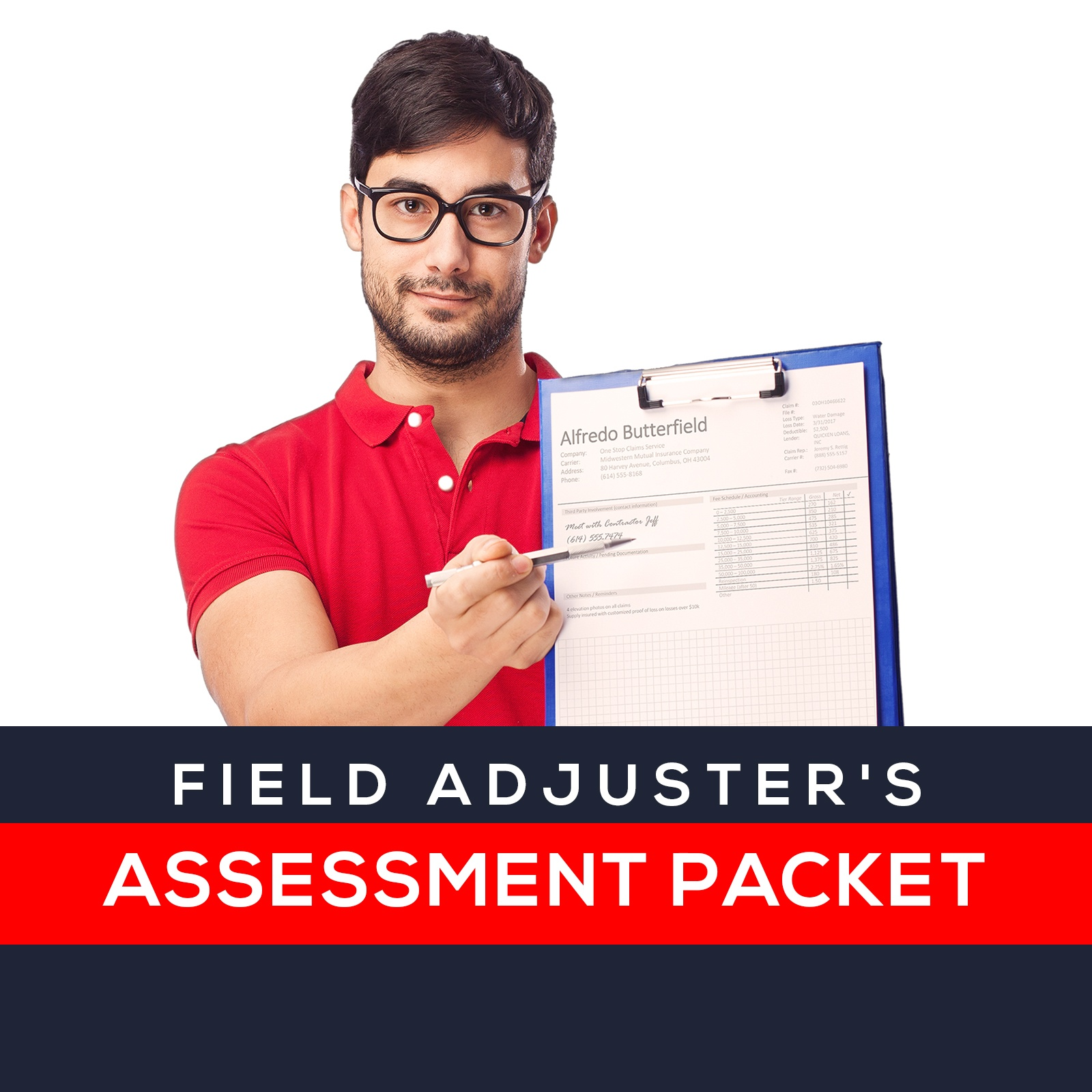 Field Adjuster Assessment Packet - Tools For Insurance ...